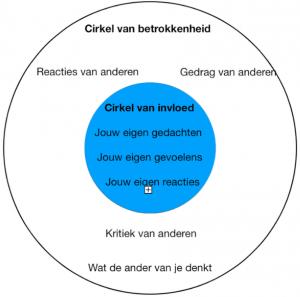 cirkel van invloed cirkel betrokkenheid